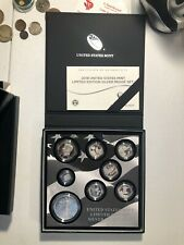 2018 Silver Proof Set United States Mint Limited Edition With Box & COA