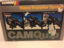 Vtg Gemini Video Transfer System CamQuip 8mm 16mm Slides Photos NEVER USED! NIB!