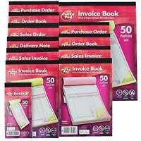 Sales Invoice/Receipt/Delivery/Purchase Order Book/Pad - Duplicate/Triplicate