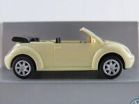 Wiking/VW VW New Beetle Cabrio (2003) in hellschwefelgelb 1:87/H0 NEU/OVP