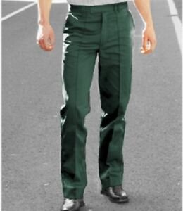 TROUSERS / WORKWEAR  - DARK SPRUCE GREEN  300g Cotton Rich Material - TR96