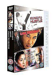 Unleashed/Crouching Tiger Hidden Dragon/Kung Fu Hustle (DVD, 2006, 3-Disc Set, B