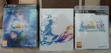 PS3 FINAL FANTASY X X-2 art book LIMTED  EDITION game playstation 3 HD remaster
