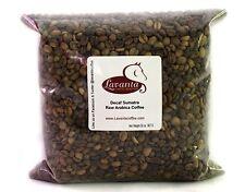 LAVANTA COFFEE GREEN FAIR TRADE ORGANIC SWISS WATER PROCESSED DECAF SUMATRA 2 LB