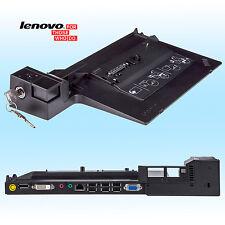 Lenovo Dockingstation 4337 für ThinkPad T400s, T410, T410i, T420 + 2 Schlüssel