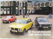 TRIUMPH Dolomite Range Original Car Sales Brochure 1977 #3250