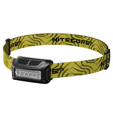 Nitecore NU10 Rechargeable Headlamp Available in Teal, White, Yellow, & Blue
