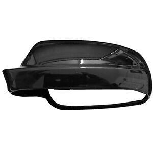 Door Wing Mirror Cover LEFT Gloss Black L041 VW Golf Mk4 EAP™