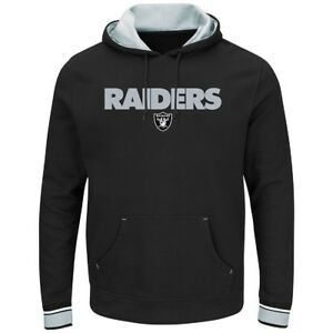 NFL Hoody Oakland Raiders Hoodie Hooded Pullover Championship Sweater Hooded