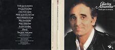 CD Charles AZNAVOUR Voilà que tu reviens (1976) Gatefold Card board sleeve Repli