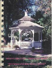CINCINNATI OH 1993 MOUNT HEALTHY CHRISTIAN HOME COOK BOOK RECIPES & RECOLLECTION