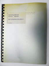 RTW Operating Manual Service Manual Dat Control DC -2/-3 English (8