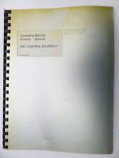 RTW Operating Manual Service Manual Dat Control DC -2/-3 English (8