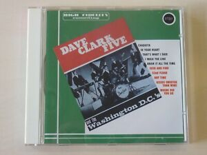 Dave Clark Five & The Washington D.C.'s - Very Rare Repertoire 1993 CD - EX