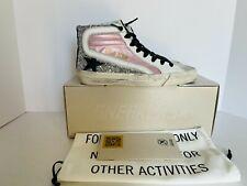 Golden Goose Women Slide Pink Silver Glitter Sneaker 39