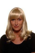 Elégant Blond Clair Perruque Femmes Frange mi-Longs Lisse 45 CM SA-157-303/220