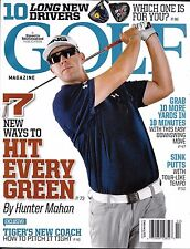 Golf Magazine Hit Every Green Downsize Move Sink Putts Long Drivers Pro tips