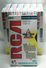 New listing Brand New Sealed Rca T120H Blank Vhs Tape 6 Hour Vcr Recording Video Cassette