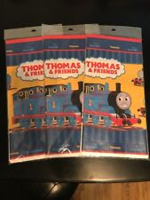 "Hallmark Party Express Thomas & Friends Plastic Table Cover 54""x102"" Set Of 3"