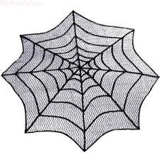 Halloween Spinnennetz Runden Party Tischdecke  Abdeckungen Kamin Tisch Dekor WEB