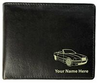 Personalised Mens Real Leather Wallet - Coupe Design