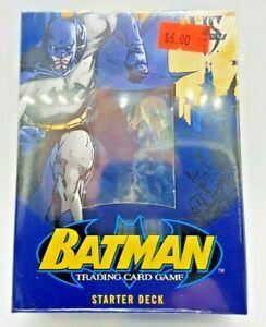 VS System  Batman Factory Sealed Trading Card Box 2 player starter deck
