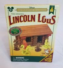 Disneyland Disney World Frontierland Lincoln Log Set Cabin MICKEY GOOFY DONALD