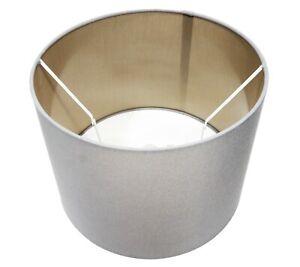 30cm Large Pendant Grey Light Shade Fabric Lampshade Floor Lamp Ceiling Modern