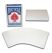 BLANK DECK TAPERED MAGIC TRICK PLAYING CARDS MAGICIANS BOYS GIRLS MENS PRESENT