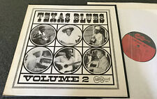 1017-TEXAS BLUES VOL 2-1ST PRESS 1968 ARHOOLIE VINYL LP-MERCY DEE/MANCE LIPSCOMB