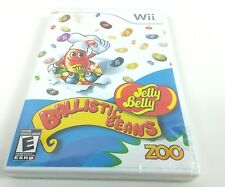 Nintendo Wii Jelly Belly Ballistic Beans Game New Sealed
