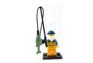 Lego Fisherman 8803 Collectible Series 3 Minifigures