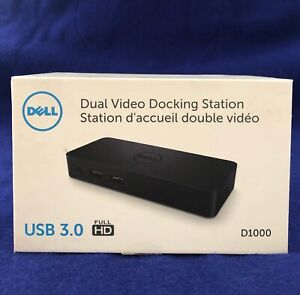 Dell D1000 Dual Video USB 3.0 Docking Station D1000