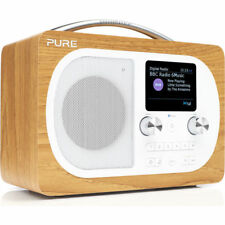 Pure Evoke H4 DAB/DAB+ FM Portable Radio - Oak