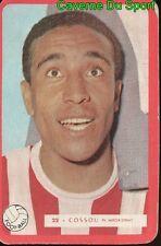 022 LUCIEN COSSOU AS.MONACO FOOTBALL CARTE MIROIR SPRINT 1960's RARE