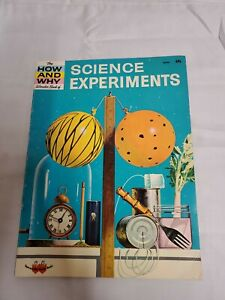 SCIENCE EXPERIMENTS - How and Why Books - Martin Keen - 1971