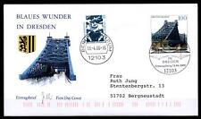 "Brücke ""Blaues Wunder"", Dresden. FDC(2)-Brief. BRD 2000"