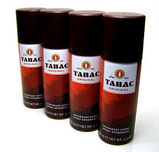 TABAC ORIGINAL DEODORANT SPRAY 200 ml in 4 Flaschen a 50 ml