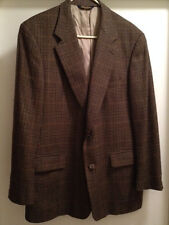 GORGEOUS Men's Brooks Brothers Wool Blend 43R Earthy Plaid Sport Coat Blazer EUC