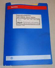 Werkstatthandbuch VW Golf IV Direkteinspritz- & Vorglühanlage m. Verteilerpumpe