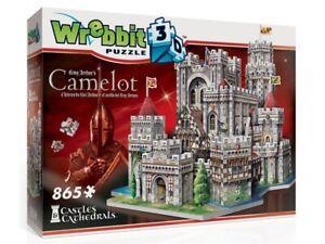 Wrebbit 3D King Arthur's Camelot Puzzle 865 Pieces (WRE020162)