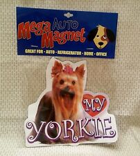 Love My Yorkie Mega Auto Magnet New In Package