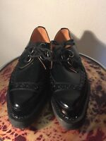 Brothel creepers D ring authentic UK 12