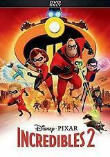 INCREDIBLES 2 (DVD, 2018, Disney*PIXAR) New / Factory...