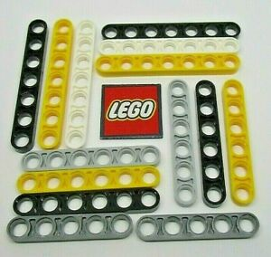 LEGO Technic Half Beams - Choose Length & Colour (Packs of 2) 32017 32063 32065