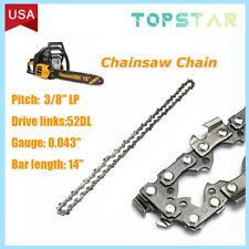 "14"" Chainsaw Chain Blade 3/8""Lp .043 52Dl Ego Cs1400 Electric repl. 90Px052X R52"
