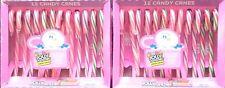 2x JOLLY Rancher Candy Canes 'Frucht' Zuckerstangen 24St =340gr Original aus USA
