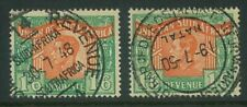 "SOUTH AFRICA - 1946 KGVI 1/6  ""LANGUAGE ERROR"" both bilingual singles (SE134)**"