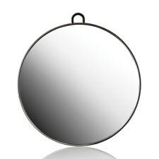 Round Black Mirror Beauty Salon - Made In Italy