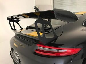 Porsche 991 GT3RS Style Trunk & Wing Spoiler fits: 2012-2018 Carrera & Turbo